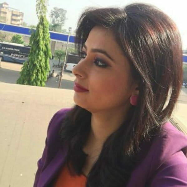 reporterka z Indii
