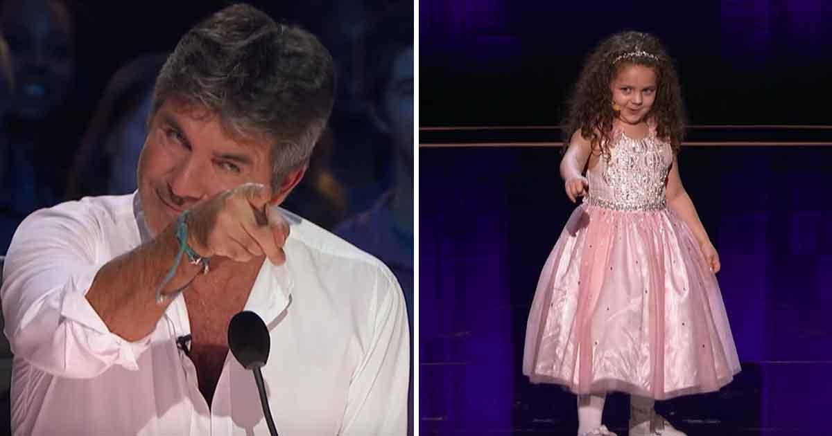 Simon nie wierzy, że 5-latka poradzi sobie z utworem Sinatry, ale jest w wielkim błędzie - zobacz jak Sophie oczarowała publiczność