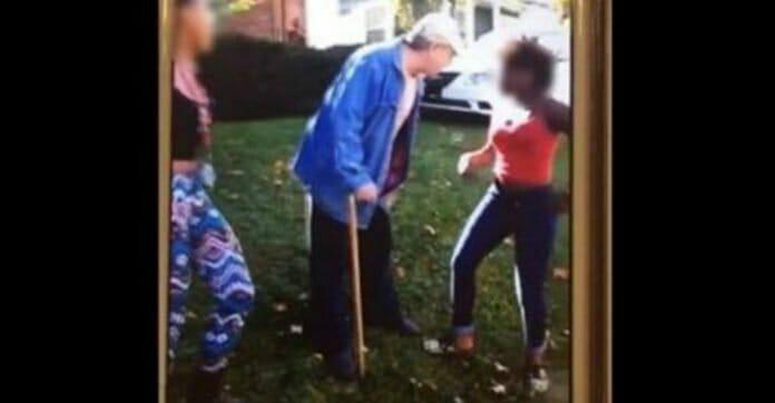 Nastolatki atakują starszego mężczyznę