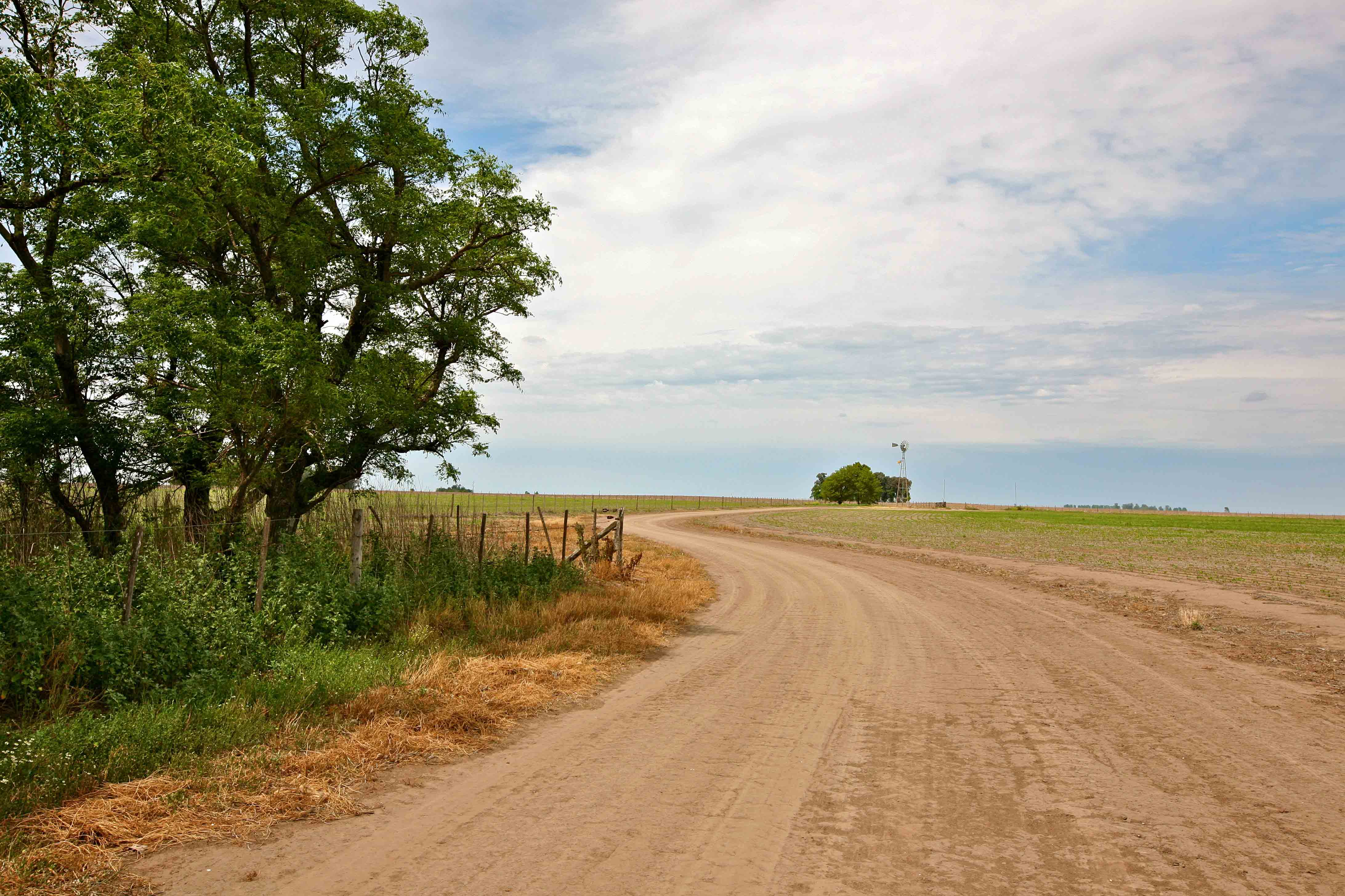 Droga prowadząca na farmę