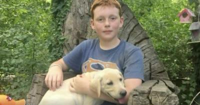 Duncan z psem