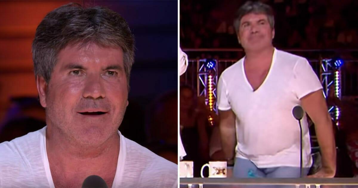Simon Cowell wstrzymuje oddech, gdy uczestniczka zaczyna śpiewać - minutę później wyskakuje z fotela