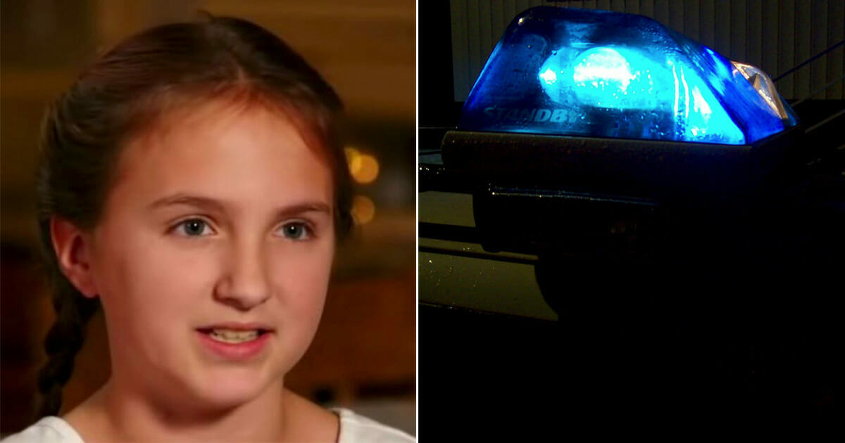 """10-latka przechytrzyła domniemanego porywacza - policja chciałaby, aby więcej rodzin stosowało """"kod"""""""