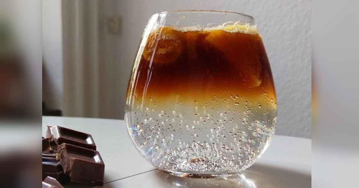 kawa z ginem i tonikiem
