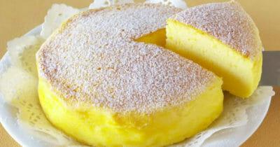 gotowe ciasto - sernik japoński