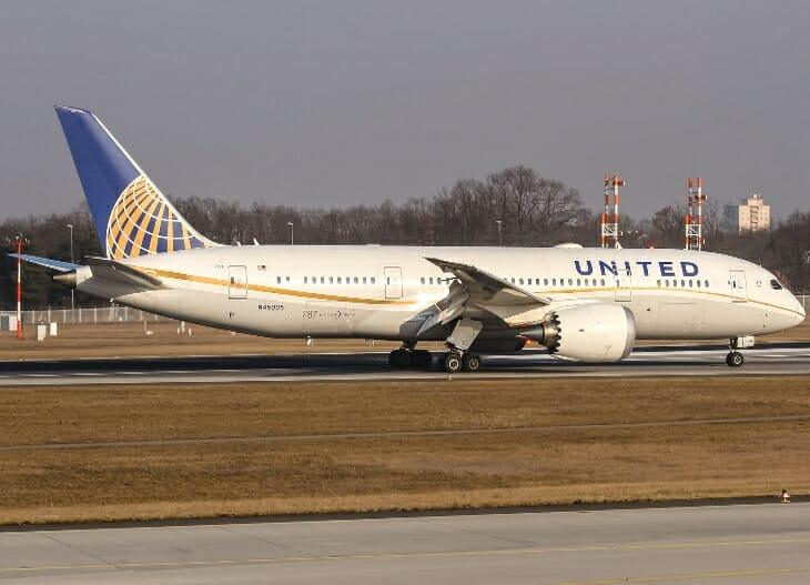 Samolot linii United