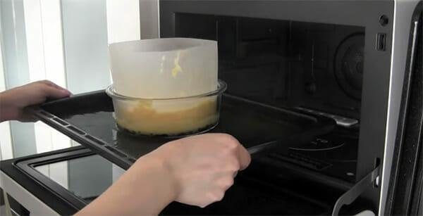ciasto wsadzane do piekarnika