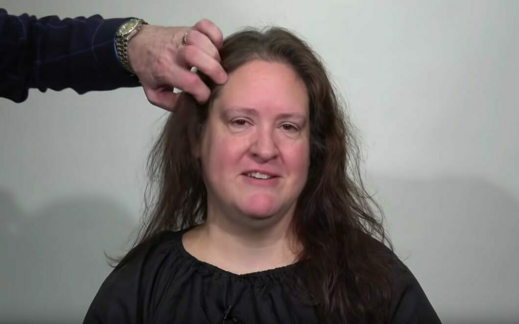 Kobieta przed zmianą