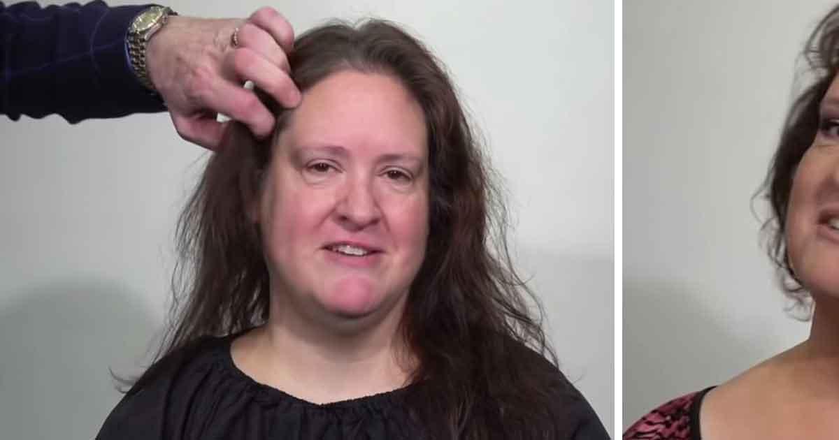 Kobieta ma dość swoich cienkich włosów - zobacz jej przemianę dzięki interwencji The Makeover Guy