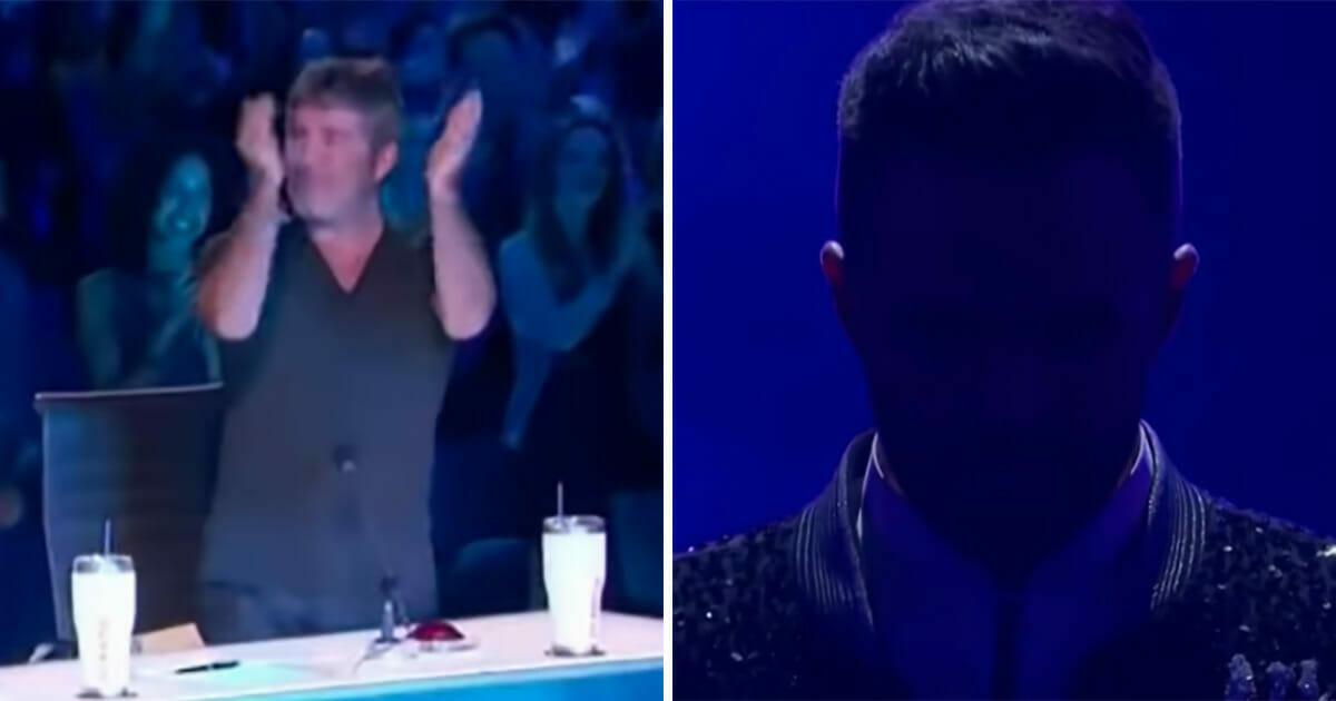 """Simon Cowell oklaskuje go na stojąco - """"To był występ z innej ligi"""""""