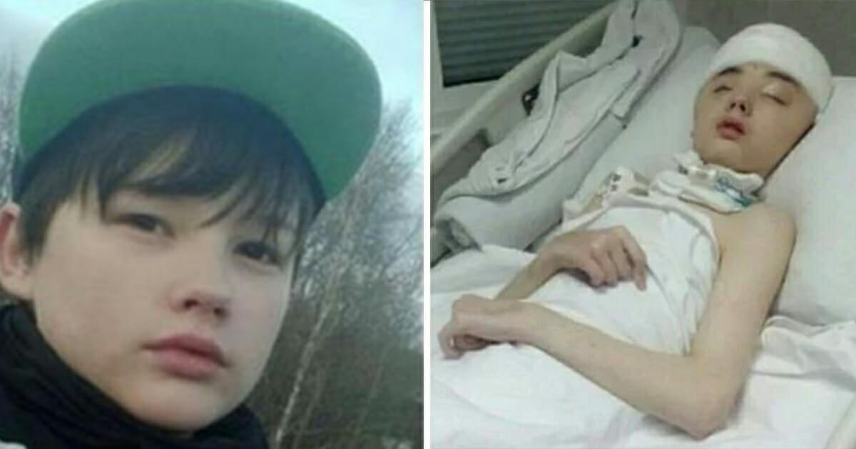Syn, który uratował matkę od napaści seksualnej, umarł w wyniku odniesionych obrażeń