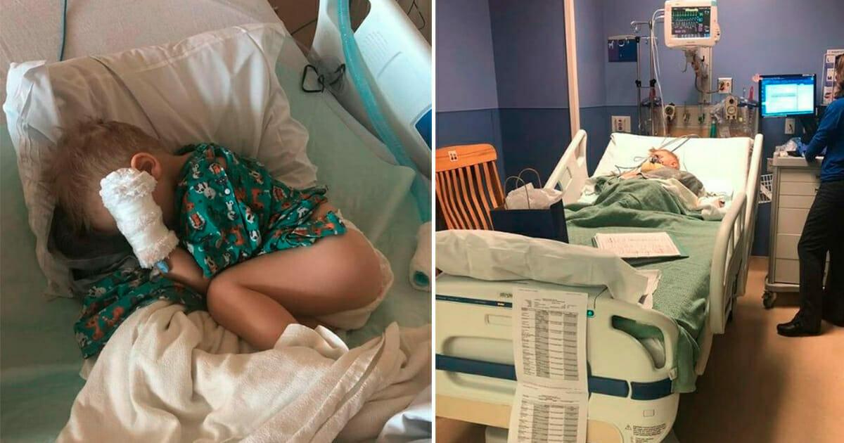 Mały Nash w szpitalu