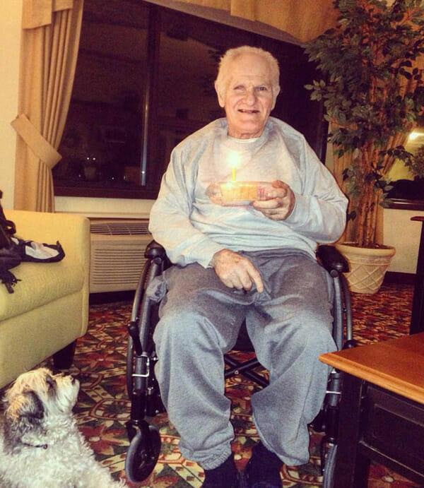 Lawrence w domu spokojnej starości