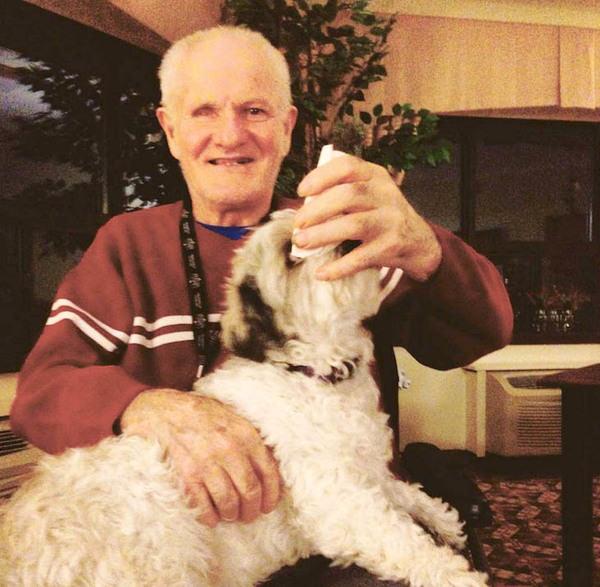 Lawrence z psem