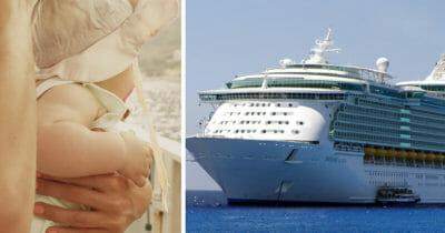 statek i dziecko
