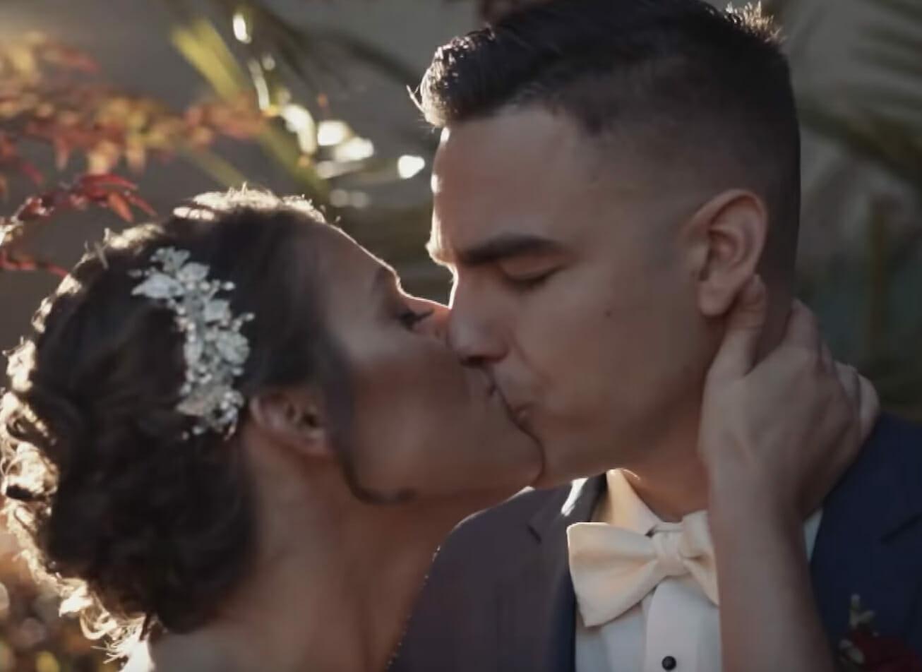 Jill i Max podczas ślubu
