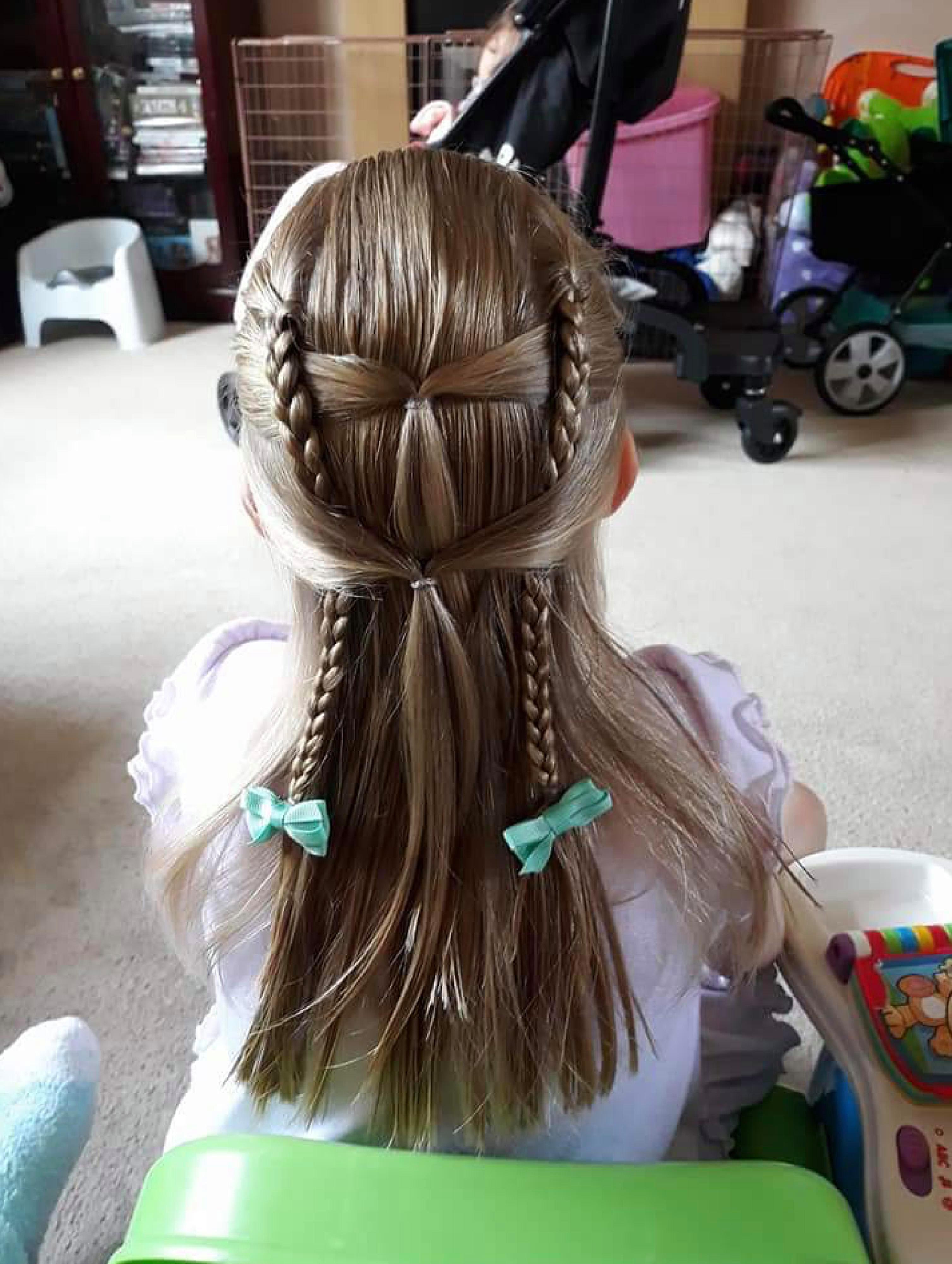 Włosy Melissy, zanim zostały obcięte