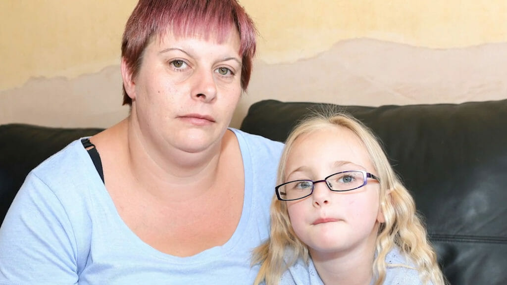Samantha i jej córka Melissa