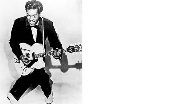 facet z gitarą