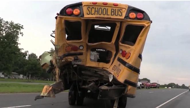 wrak autobusu
