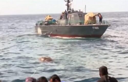 kuter na wodzie