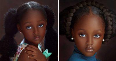 """5 -letnią Jare nazwano """"najpiękniejszą dziewczynką na świecie"""" – teraz podrosła i szturmem podbija internet"""