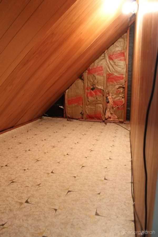 la stanza nascosta della casa