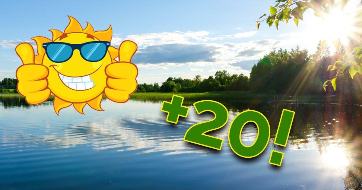 Hyviä uutisia kaikille: Etelän lämpöaalto tuo viimein kevään Suomeen!