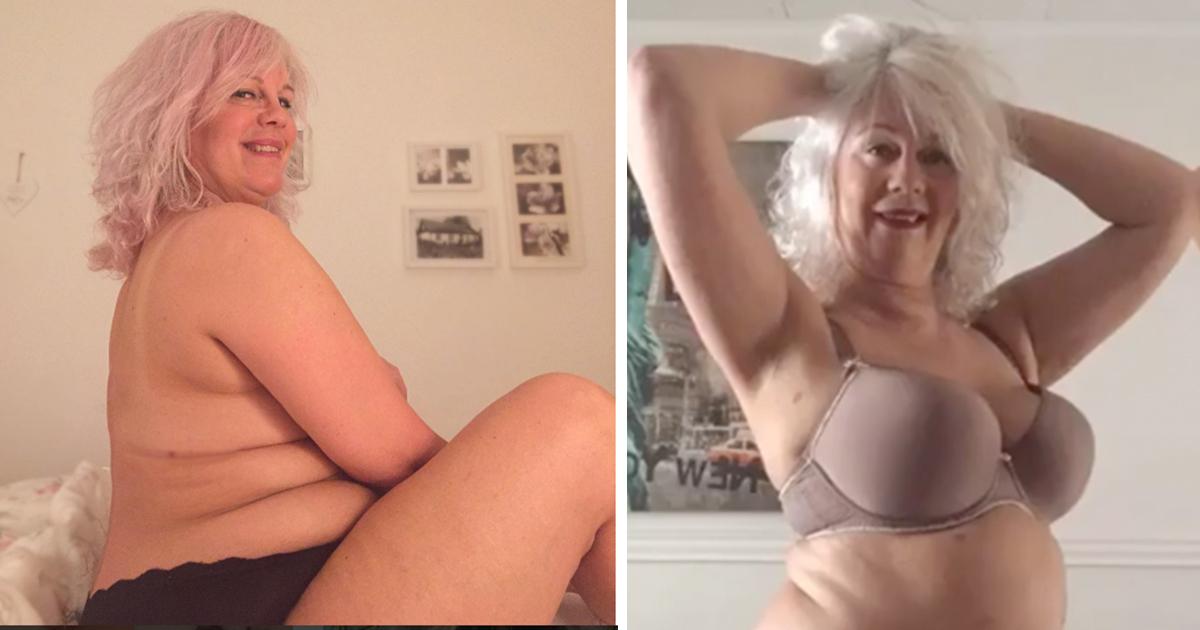 d694f68f 54-åringen Anna fra Malmø bestemte seg for å slutte og se ned på kroppen sin.  I stedet bestemte hun seg for å begynne og elske den.