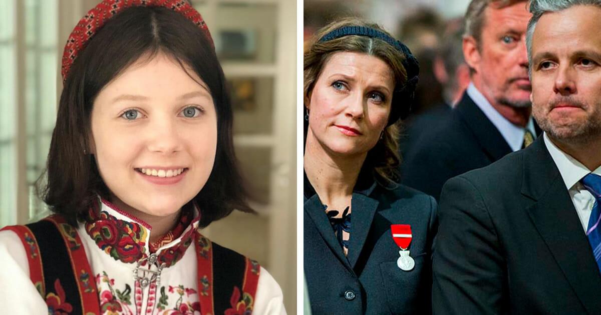 Prinsesse Martha Louises Helt Spesielle Gratulasjon Til Maud Angelica