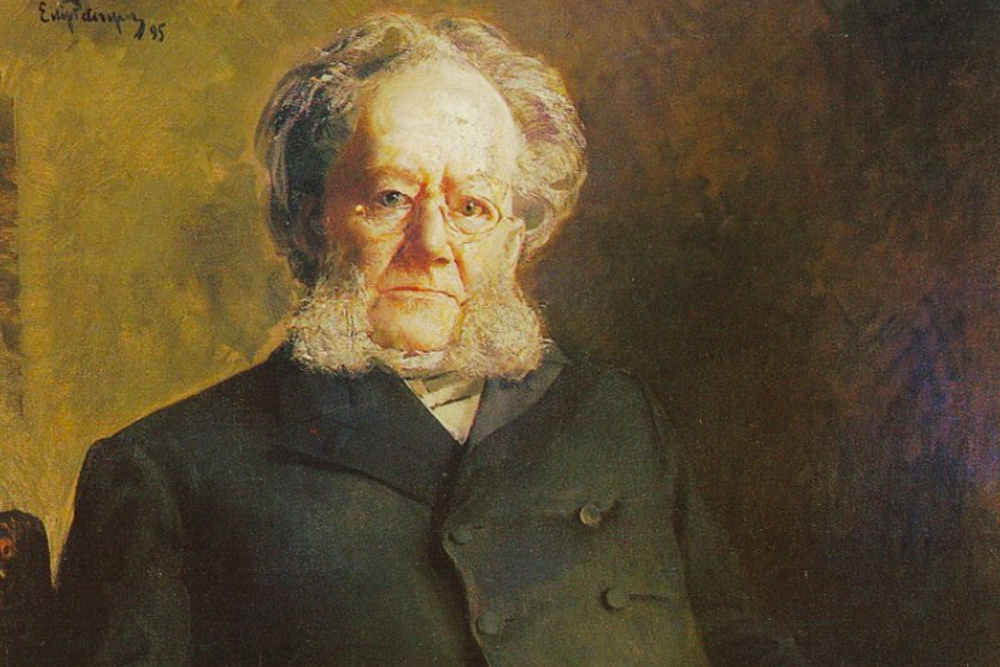 Henrik Ibsen by Eilif Peterssen, 1895