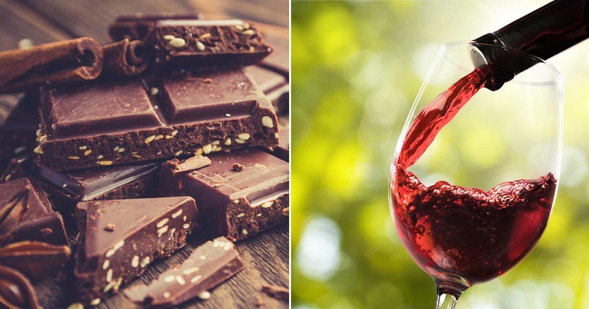 Professors Slanketip Spis Ost Chokolade Og Rødvin