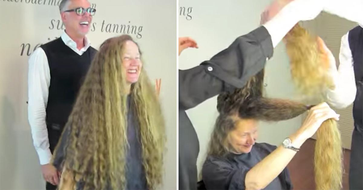 klippe langt hår