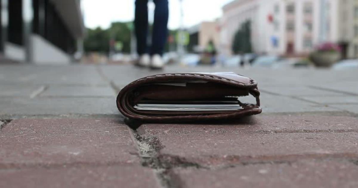 Jeg har mistet min pung