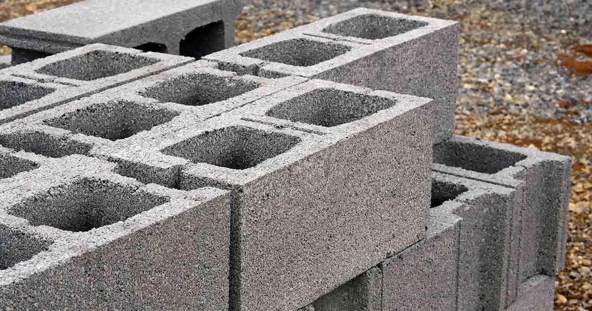 Betonziegelsteine