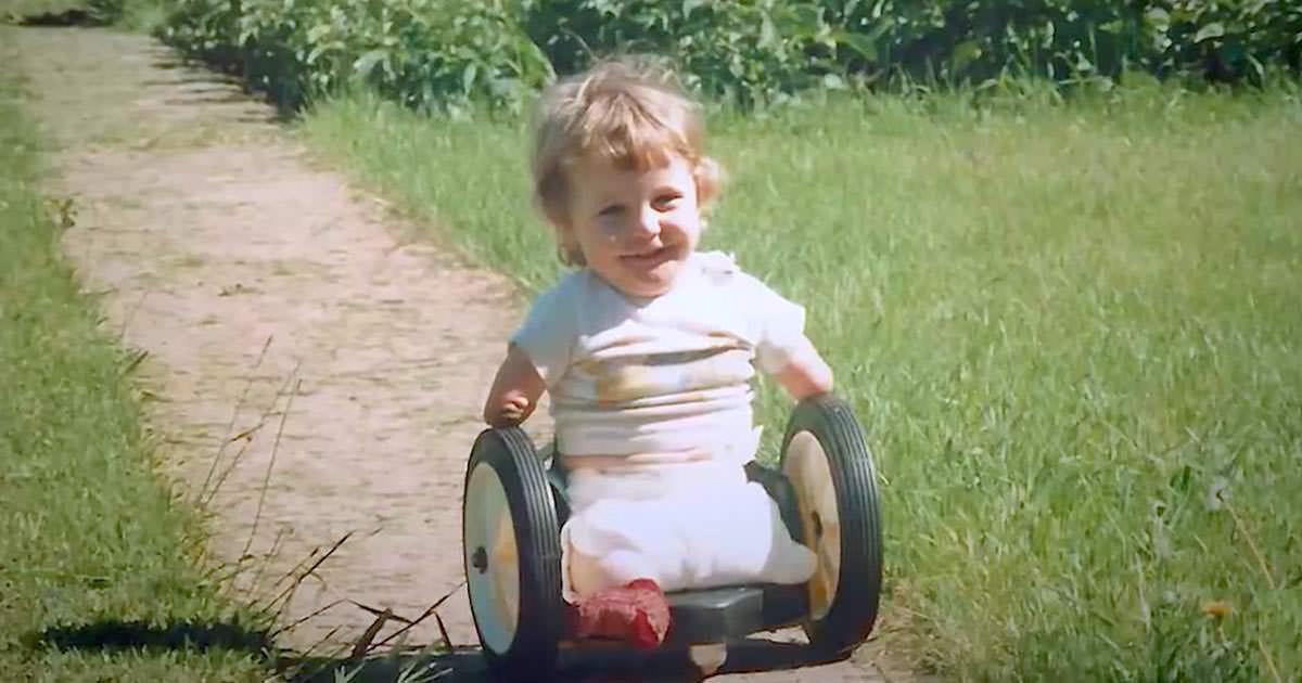 Chris wurde ohne Arme und Beine geboren - doch seine
