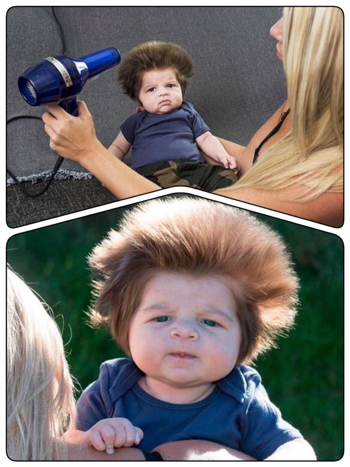 Haare vom baby wachsen nicht