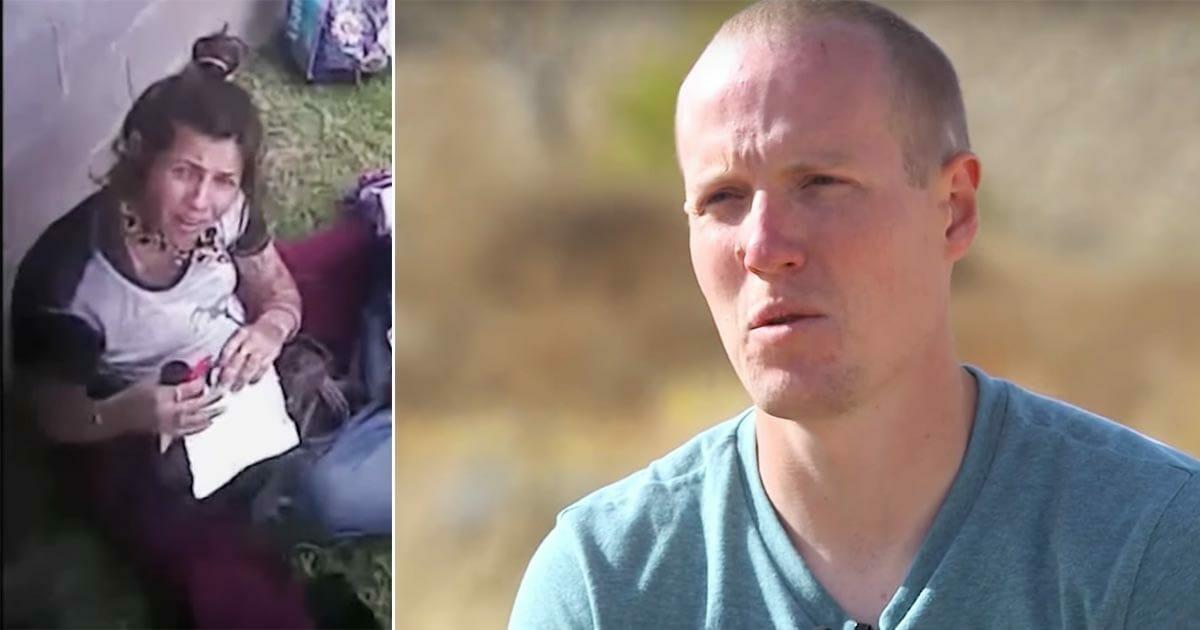 Polizei Hilft Einer Obdachlosen Und Schwangeren Frau Macht Einen