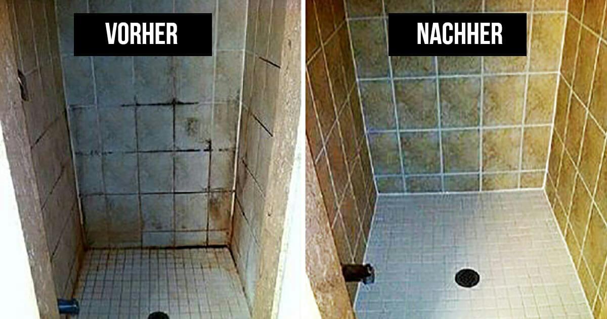 Putz Im Badezimmer, zeit für den badezimmer-putz? dieser trick wird ihnen das leben, Design ideen