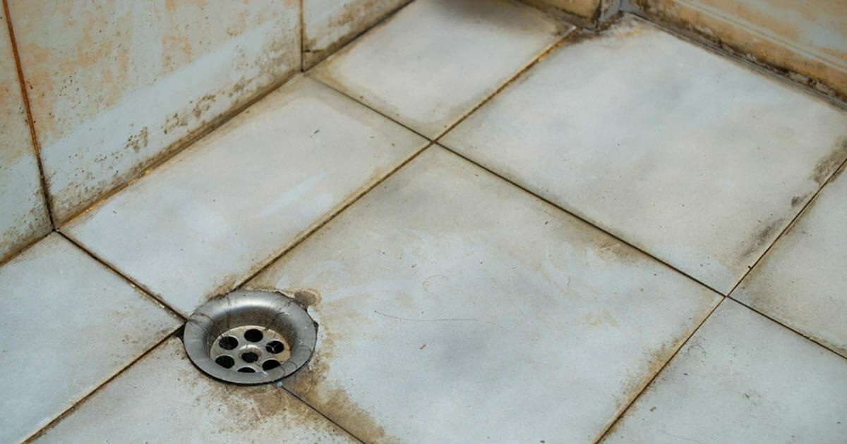 tiles dirty