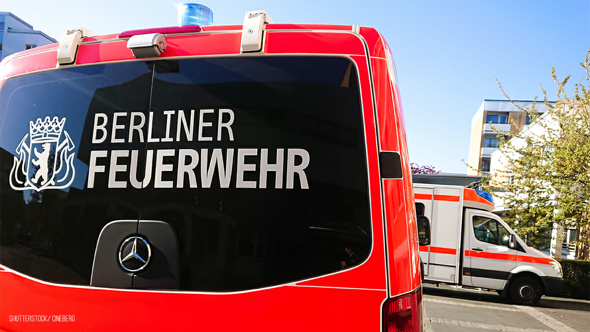 Feuerwehrmann Berlin