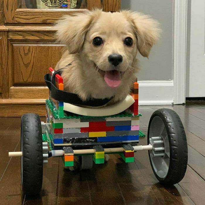 Lego, Rollstuhl