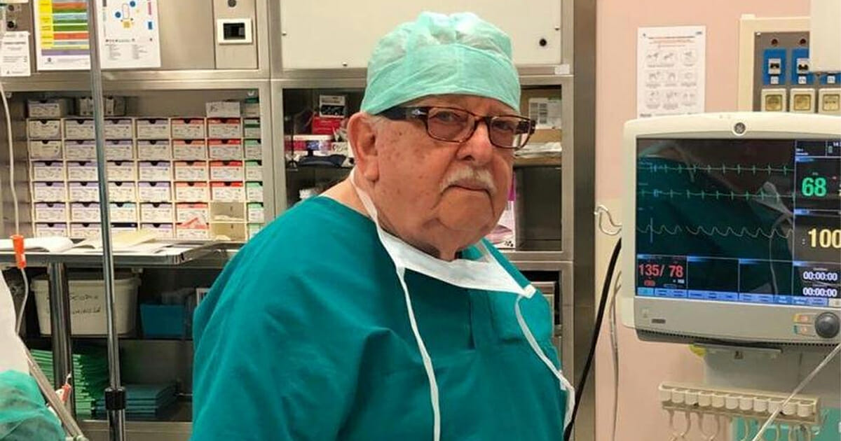 Italienischer Arzt Corona