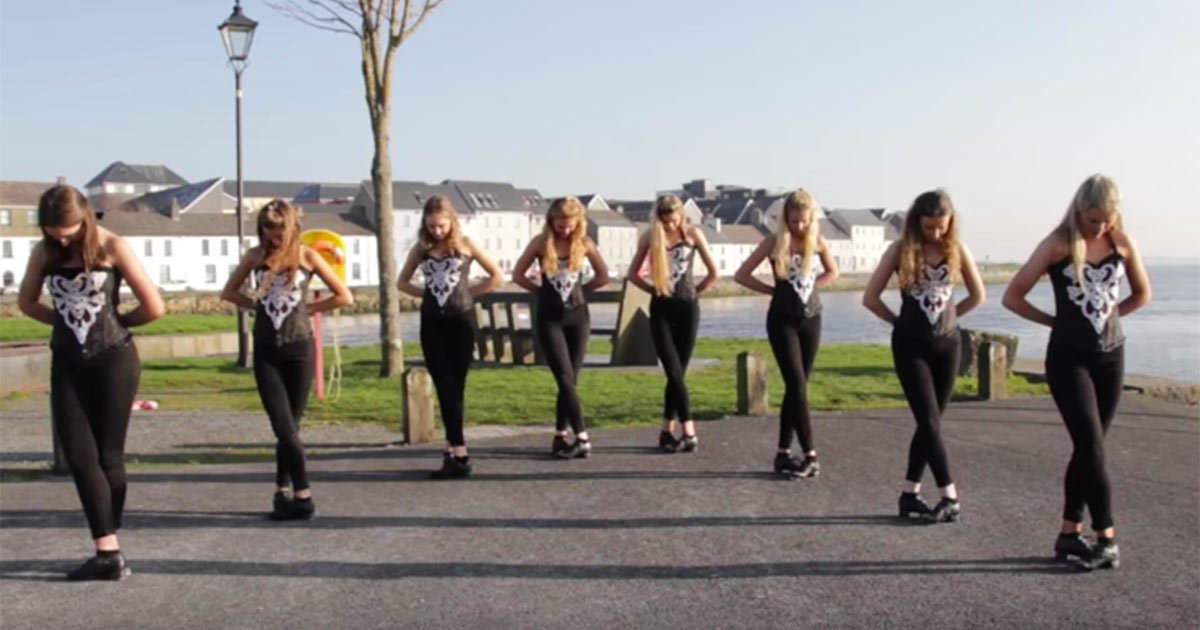 Irish Girls Riverdance