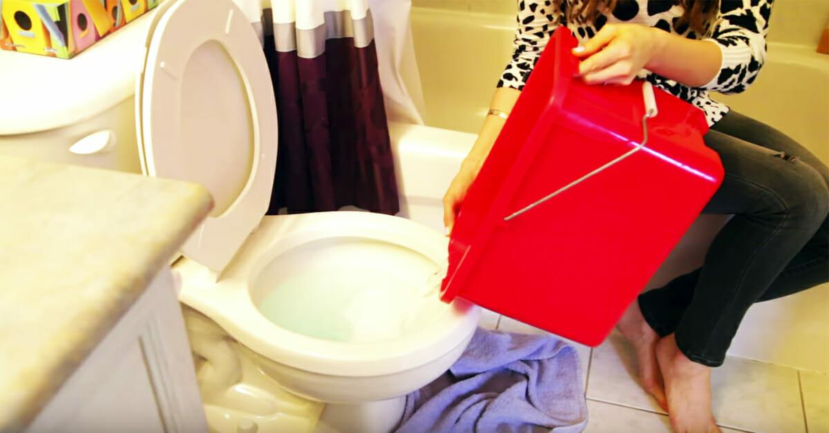 toilettes bouch es et pas de d bouchoir ventouse la maison alors mon voisin a r v l cette. Black Bedroom Furniture Sets. Home Design Ideas