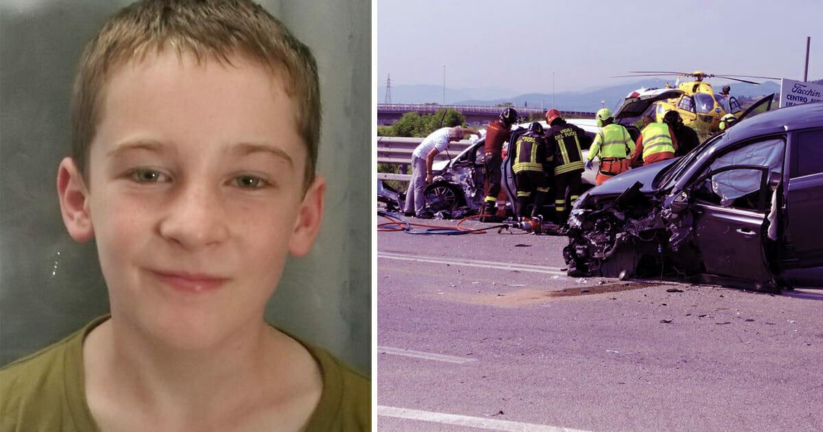 Un Enfant De 10 Ans Se Bat Pour Sa Vie Apres Un Terrible