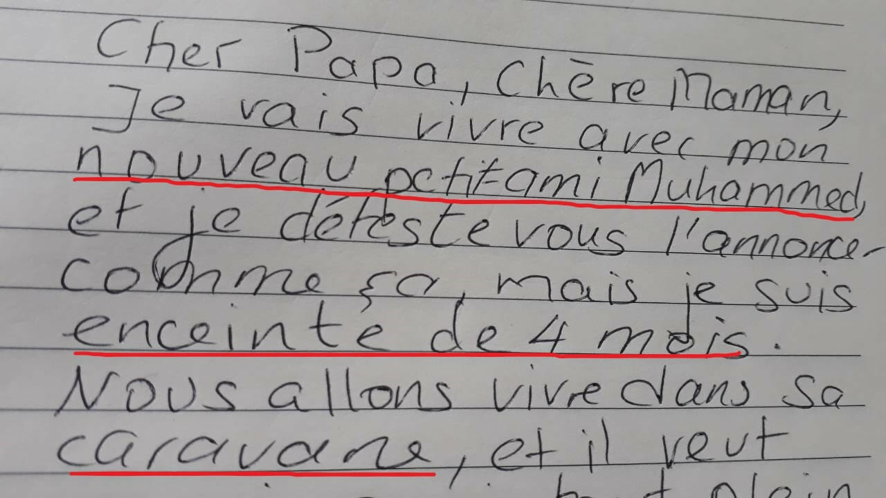 Ce Papa Retrouve Une Lettre Dadieu De Sa Fille De 16 Ans